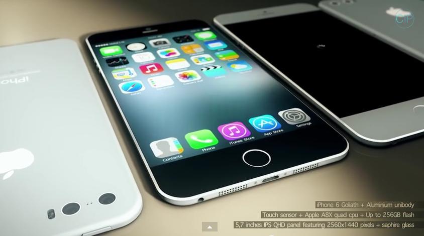 uPhone 6 concepto Goliath