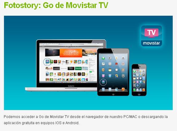 movistar go tv