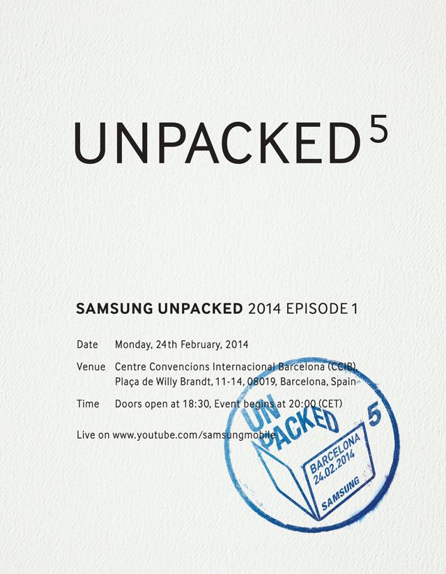 samsung evento 24 de febrero barcelona